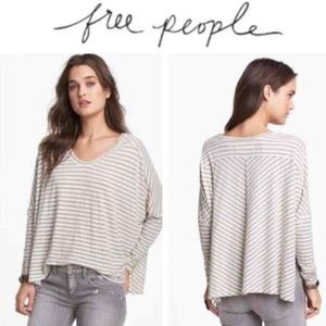 WE THE FREE x Free People Dolman Striped Top Large